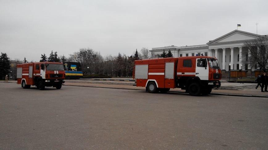 В Краматорске репетируют передачу спасательной техники (фото) - фото 3