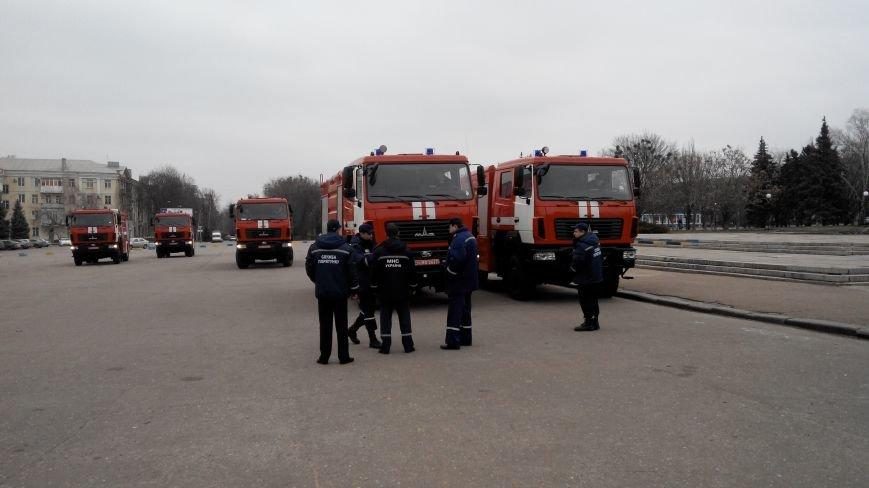 В Краматорске репетируют передачу спасательной техники (фото) - фото 5