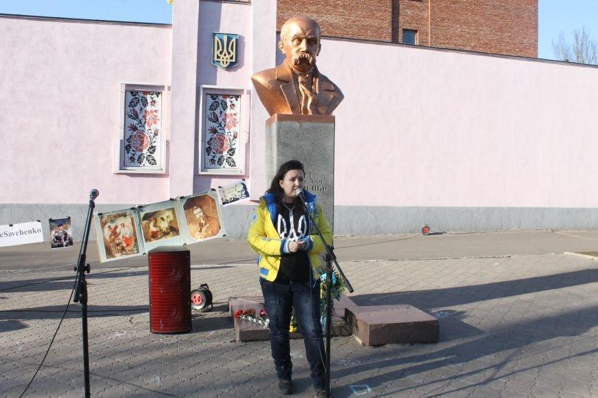 В Доброполье акция в поддержку Надежды Савченко прошла, в Белицком – сорвалась (ФОТО,ВИДЕО), фото-7