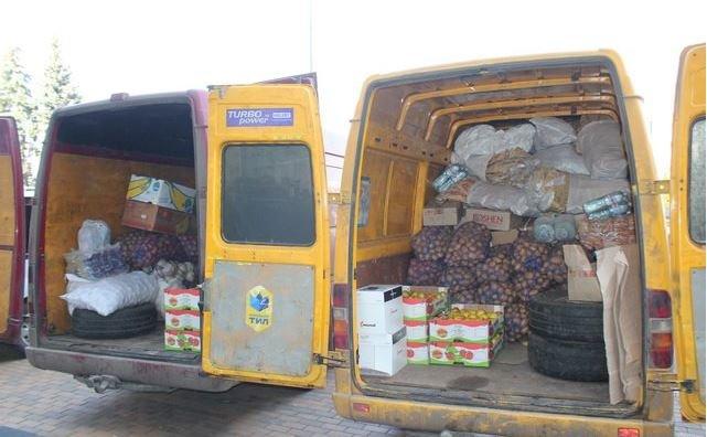 Тепловізор, генератор, картоплю та сало передали вінничани бійцям в зону АТО (фото) (фото) - фото 1