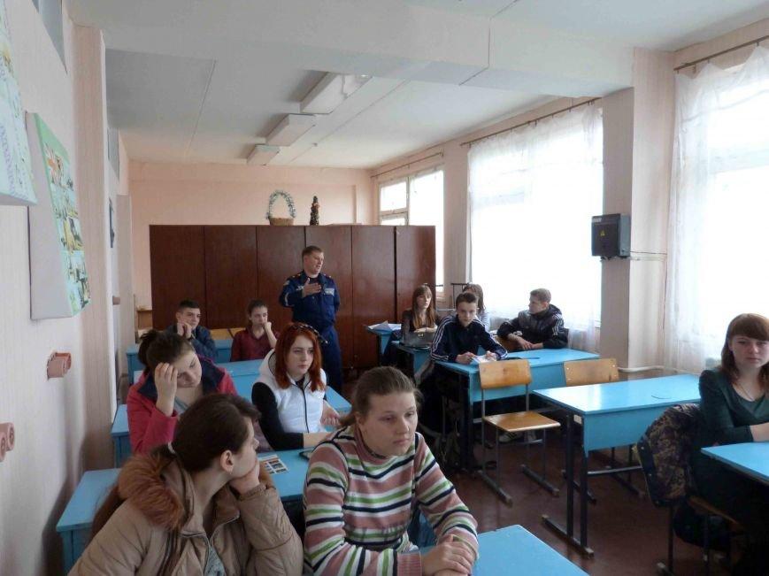 В Северодонецком училище № 92 прошел открытый урок (ФОТО) (фото) - фото 1