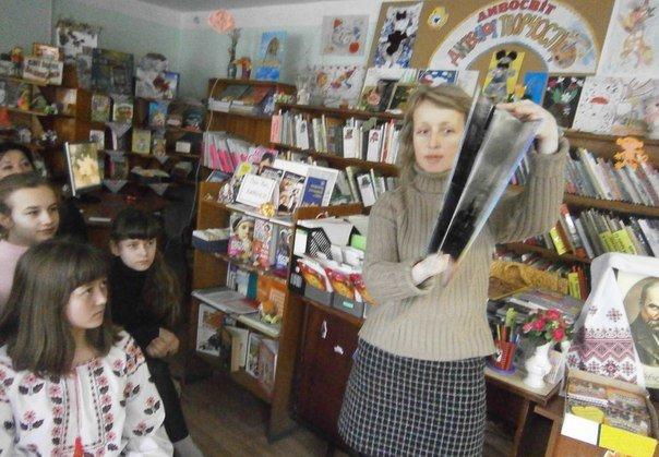 У дитячій бібліотеці Слов'янська відзначили 202 річницю з Дня народження Шевченка (фото) - фото 5