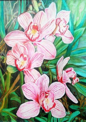 выставка весна, цветы