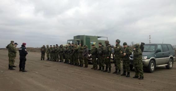 Спецназ полиции проводил учения под Мариуполем (ФОТО) (фото) - фото 1