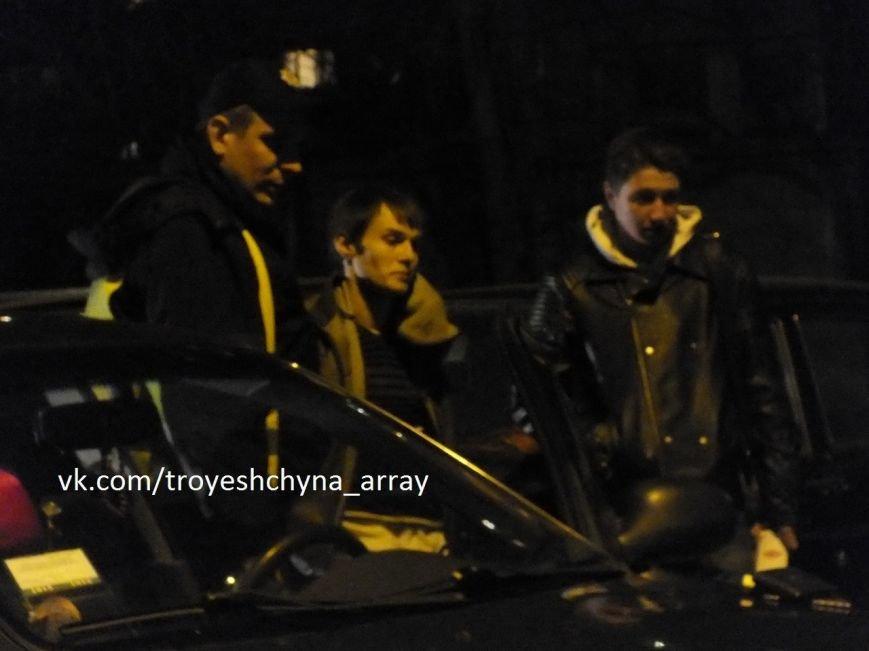 На Троещине в результате погони полиция задержала таксиста (ФОТО) (фото) - фото 1