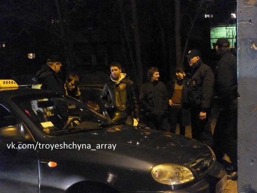 На Троещине в результате погони полиция задержала таксиста (ФОТО) (фото) - фото 3