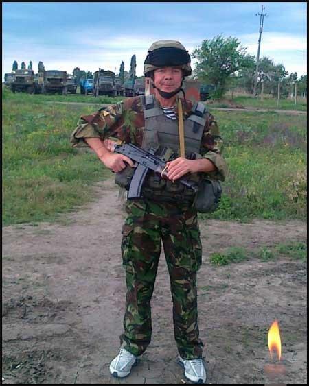 Франківськ прощається з бійцем АТО (фото) - фото 1