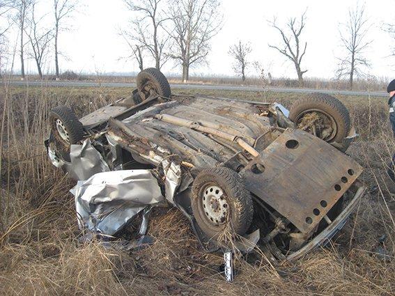 В ДТП разбился водитель «Мерседеса», за которым гналась полиция в центре Днепропетровска (ФОТО) (фото) - фото 1