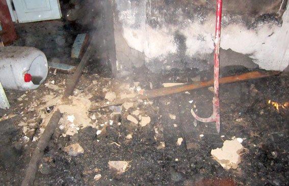 На Полтавщине вор поджег дом и избил товарища (фото) - фото 1