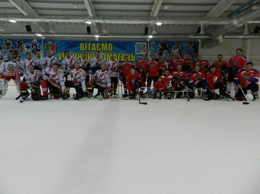 Хоккейное дерби в Кривом Роге завершилось победой