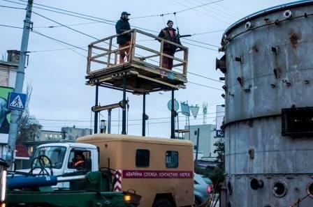 Транспортный коллапс в Херсоне (фото) (фото) - фото 5