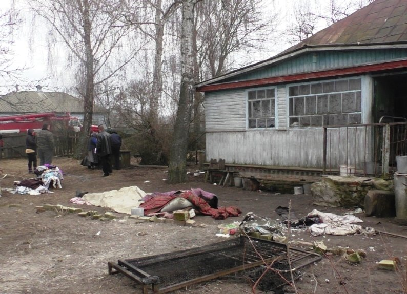 Три человека погибли на пожаре в Черниговской области (фото) - фото 1