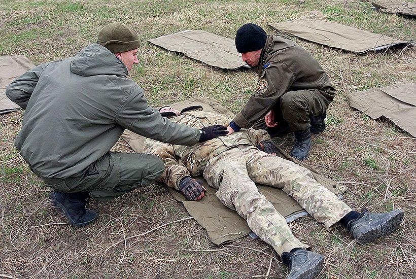 Гвардейцы славянского полка Национальной гвардии проходят психологические тренинги после проведения ротации (фото) - фото 1