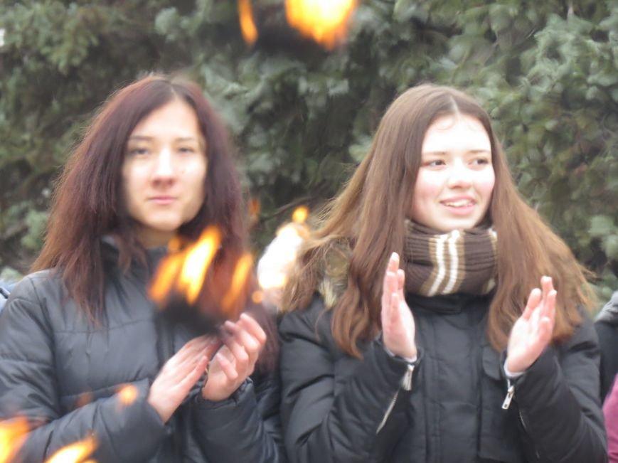 Жители Левобережного района первыми сожгли Масленицу (ФОТО+ВИДЕО), фото-8