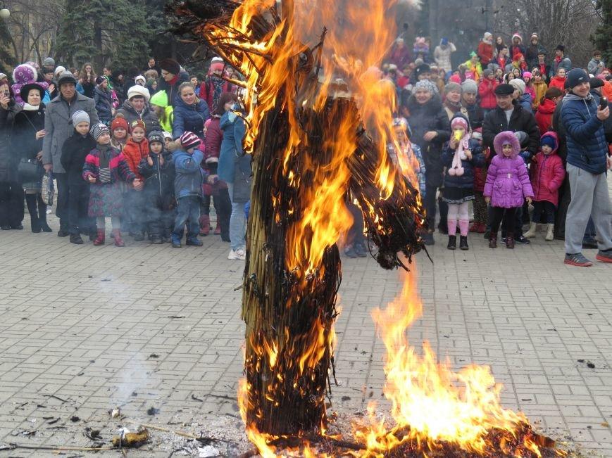 Жители Левобережного района первыми сожгли Масленицу (ФОТО+ВИДЕО), фото-4
