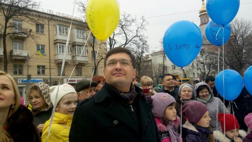 В Мариуполе на Масленницу испекли карту Украины, а самый сильный человек тащил самосвал (ФОТО+ВИДЕО), фото-6