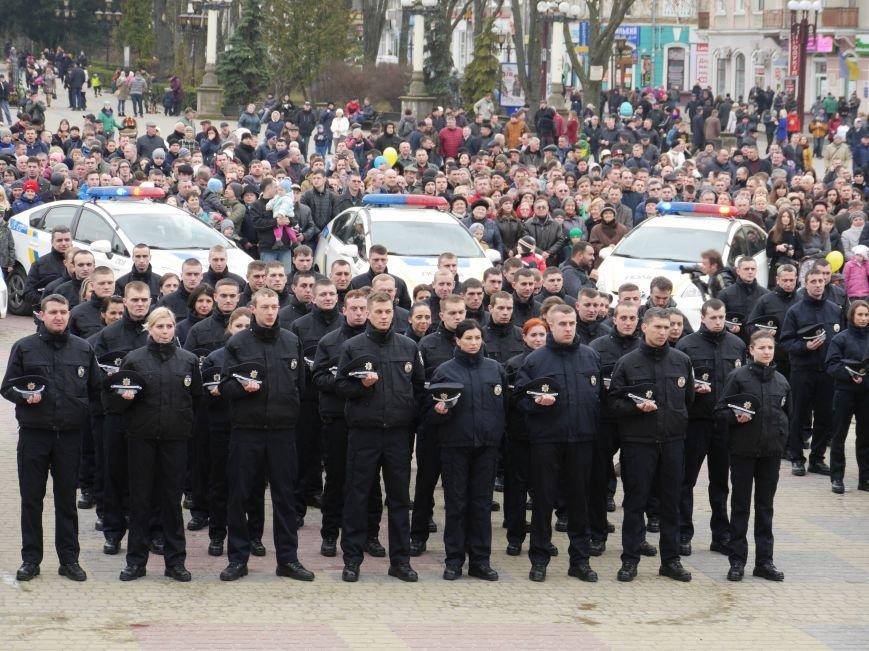 Тернопіль охоронятимуть 17 екіпажів патрульних поліцейських (Фото) (фото) - фото 1