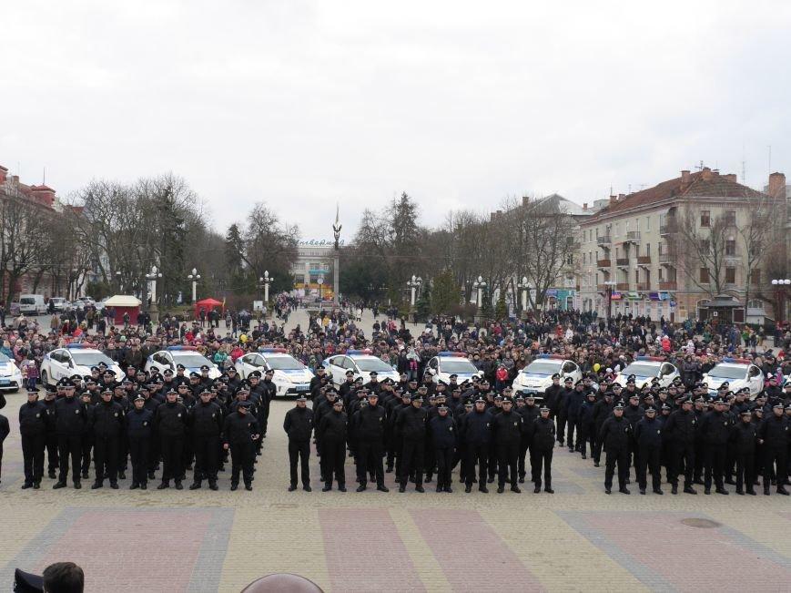 Тернопіль охоронятимуть 17 екіпажів патрульних поліцейських (Фото) (фото) - фото 2