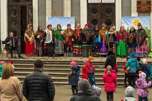Центр культуры и окружающей среды Славянска отметил Масленицу (фото) (фото) - фото 2