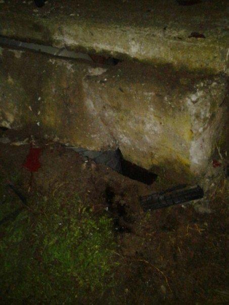 Под Одессой полная машина людей врезалась в бетонные блоки (ФОТО) (фото) - фото 1