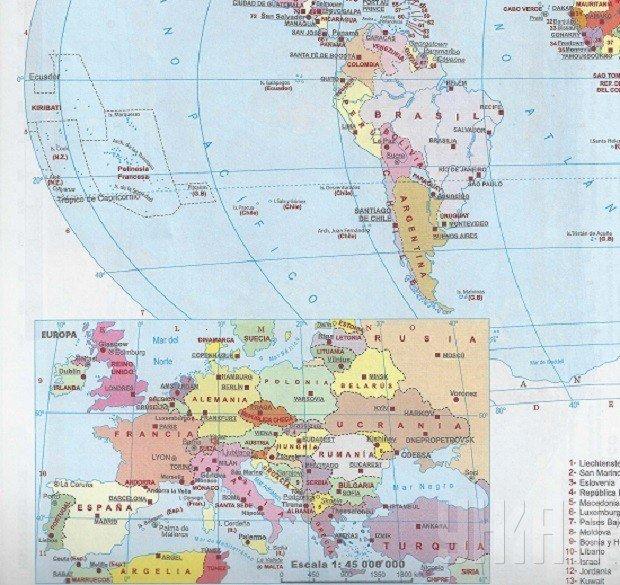 На Кубе издали атлас, в котором Крым отнесли и к России, и к Украине (ФОТО) (фото) - фото 2