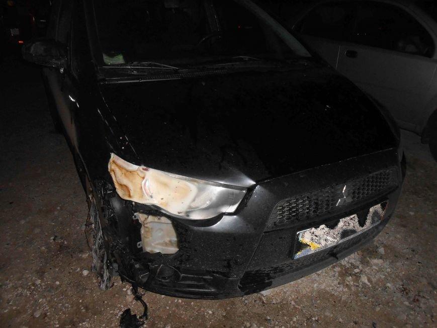 В Северодонецке ночью горели и плавились автомобили (ФОТО) (фото) - фото 1