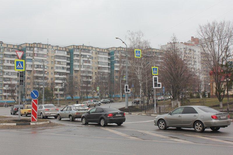 На одном из оживлённых перекрёстков Белгорода установили светофоры, фото-1