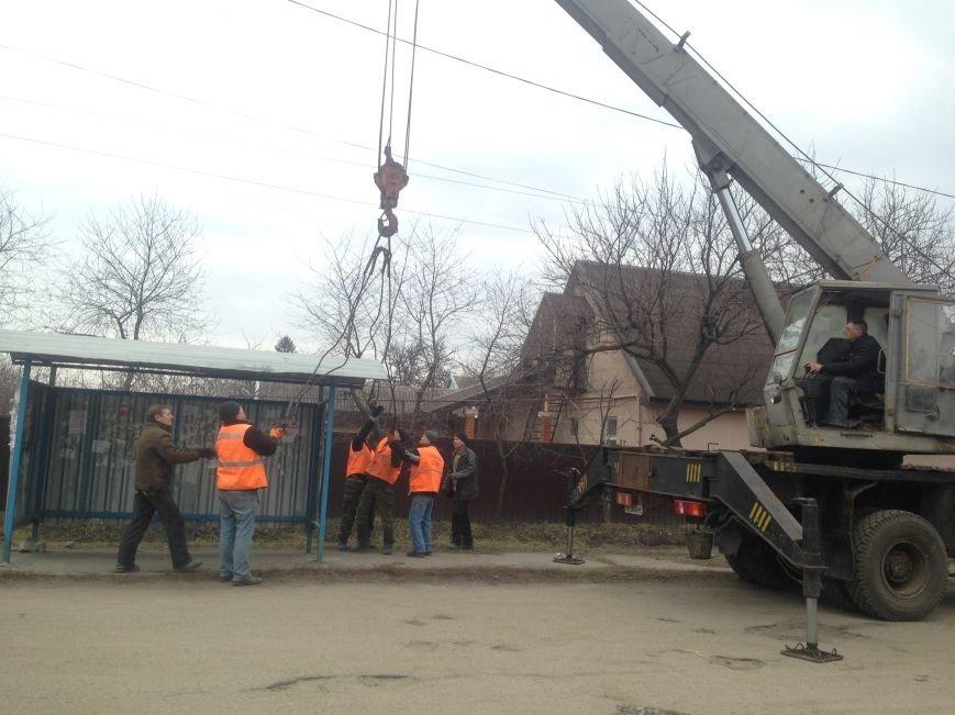 В Днепродзержинске восстановили исчезнувшую остановку, фото-3