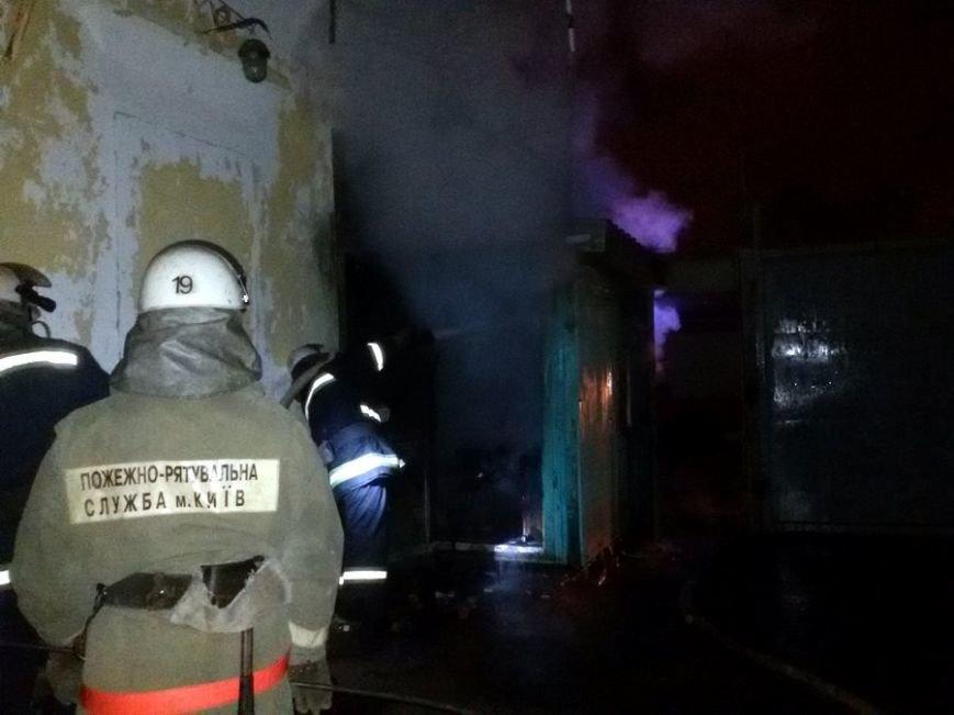 В Деснянском районе во время пожара погиб охранник предприятия (ФОТО), фото-2