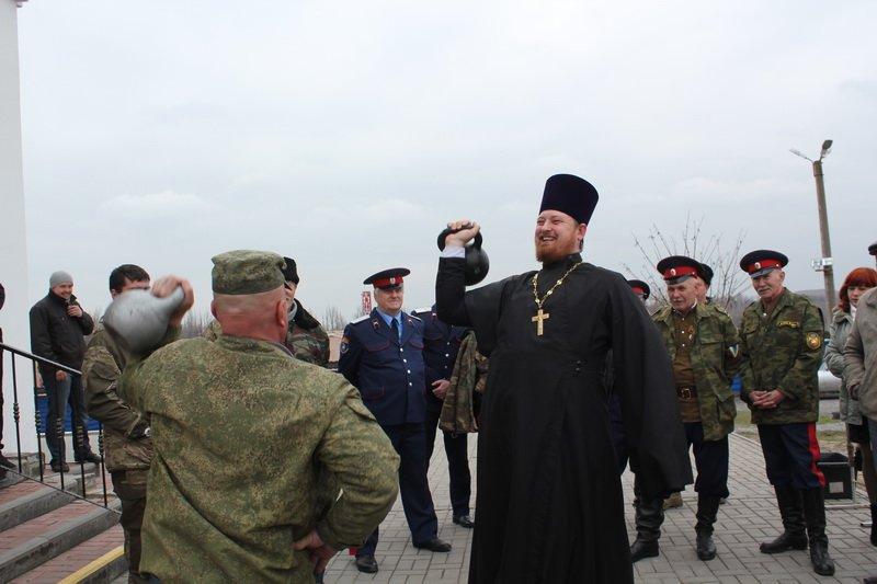 Праздничное мероприятие состоялось в Новошахтинске по случаю Прощёного воскресенья, фото-5
