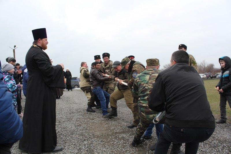 Праздничное мероприятие состоялось в Новошахтинске по случаю Прощёного воскресенья, фото-6