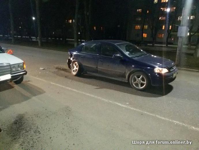В Полоцке мотоциклист врезался в Opel. Пассажир Yamaha в больнице (фото) - фото 2