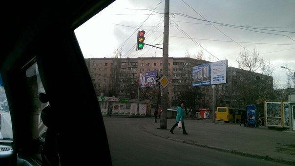 В Одессе светофор сошел с ума (ФОТО) (фото) - фото 1