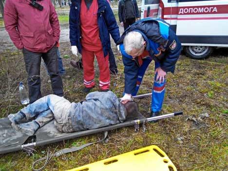 На Масленицу сумчане нашли истекающего кровью человека в заброшенном кинотеатре (ФОТО) (фото) - фото 2