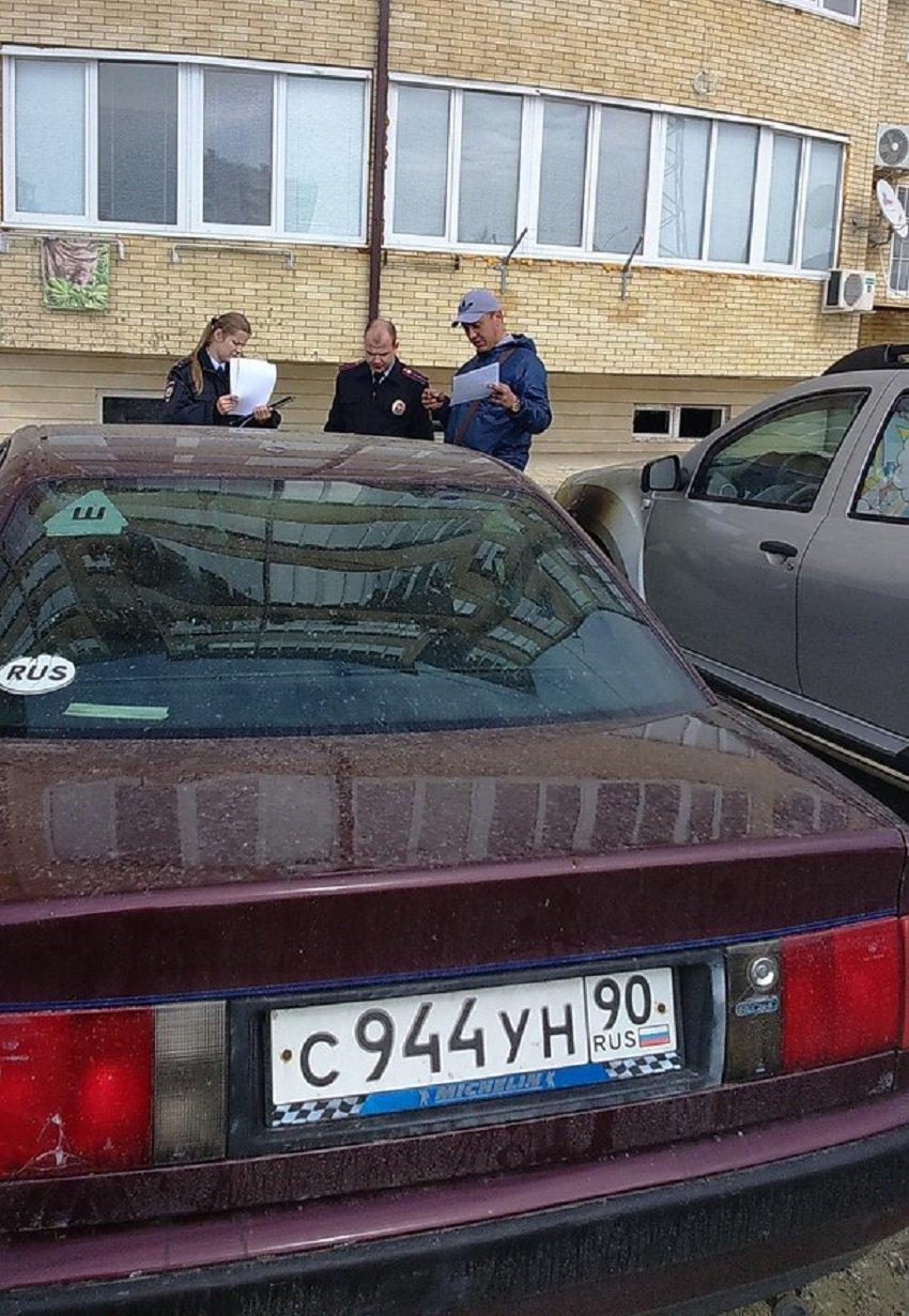 В Анапе сгорела Audi (фото) - фото 2