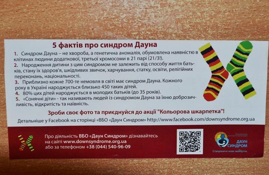 """Акція """"Кольорова шкарпетка"""" крокує Житомиром, фото-7"""