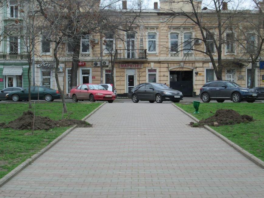 В Одессе на Соборной площади орудует спецтехника (ФОТО), фото-9