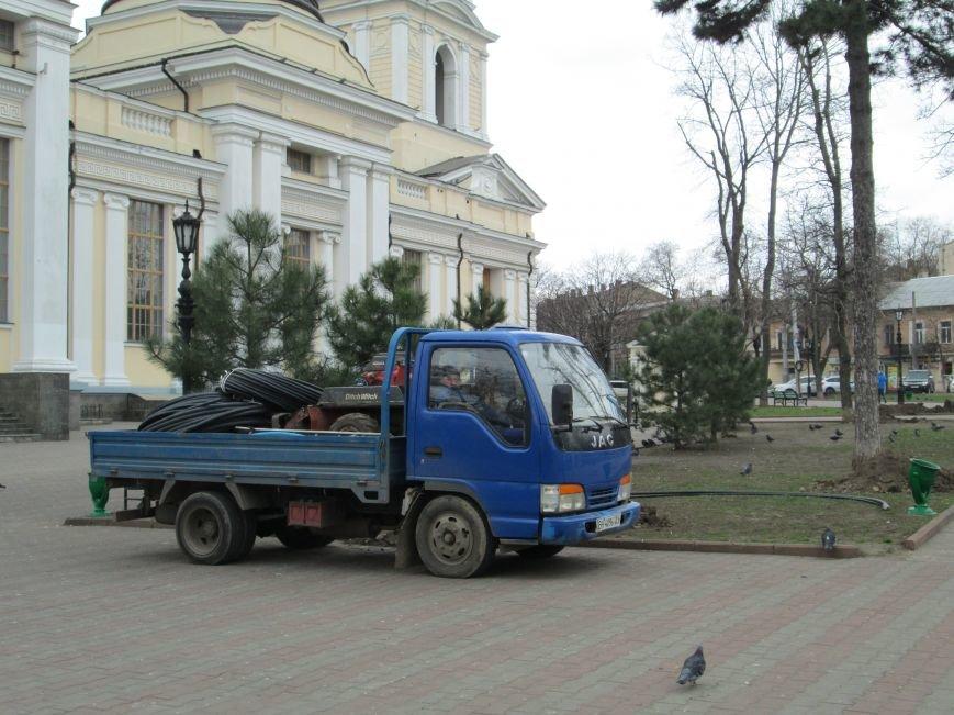 В Одессе на Соборной площади орудует спецтехника (ФОТО), фото-4