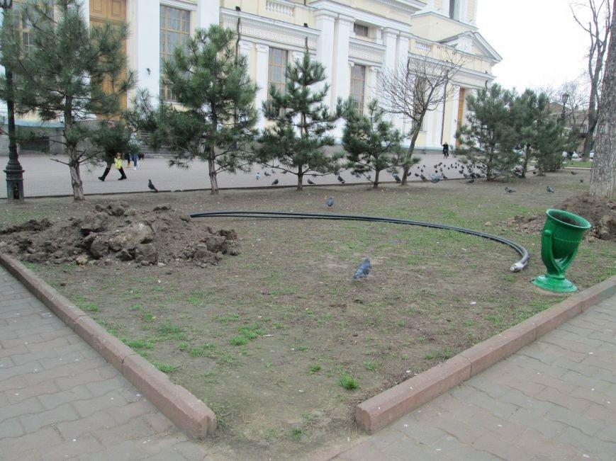 В Одессе на Соборной площади орудует спецтехника (ФОТО), фото-5