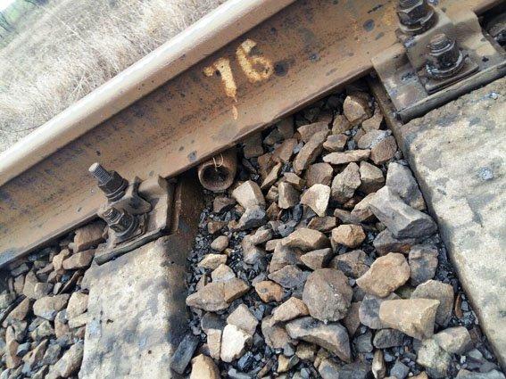 В Добропольском районе предотвратили теракт на железной дороге (фото) - фото 1