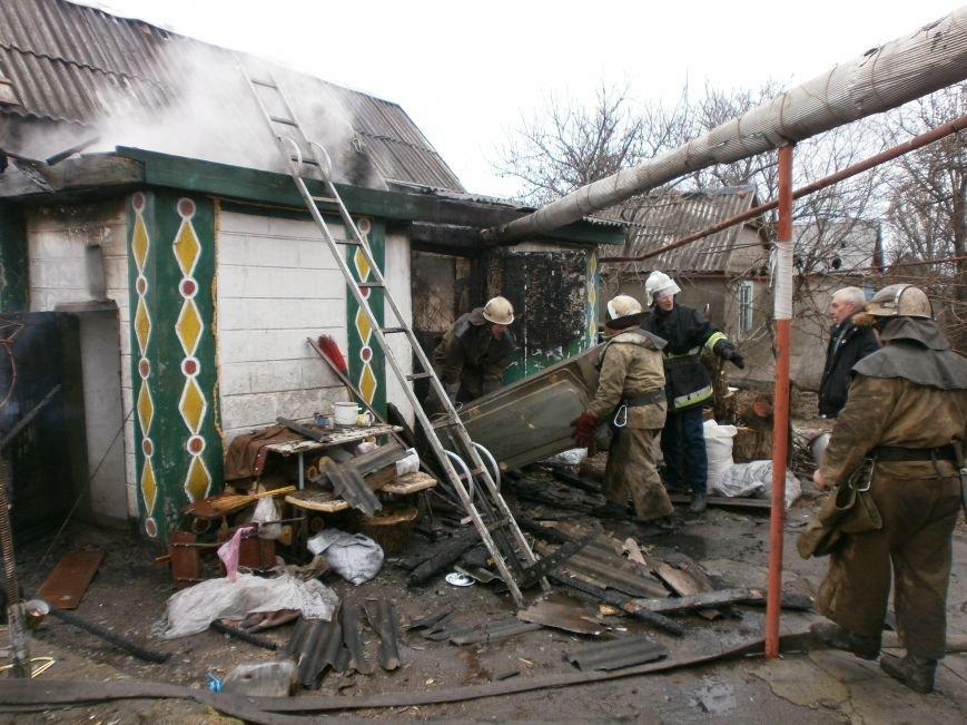 В Днепродзержинске горел частный жилой дом (фото) - фото 2