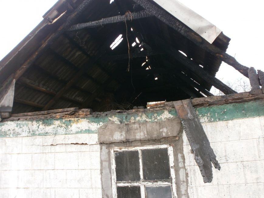 В Днепродзержинске горел частный жилой дом (фото) - фото 3
