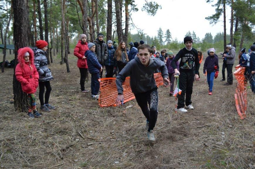 Краматорчане успешно выступают на областном соревновании по спортивному ориентированию (фото) - фото 1