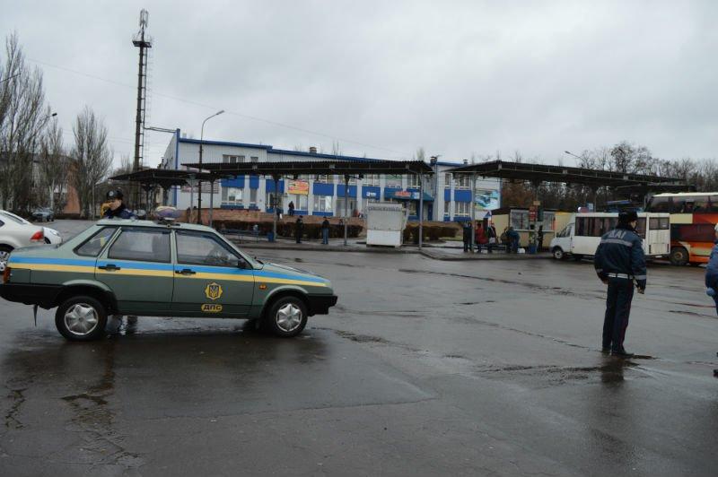 Краматорские гаишники устроили рейд на автовокзале (фото) - фото 1