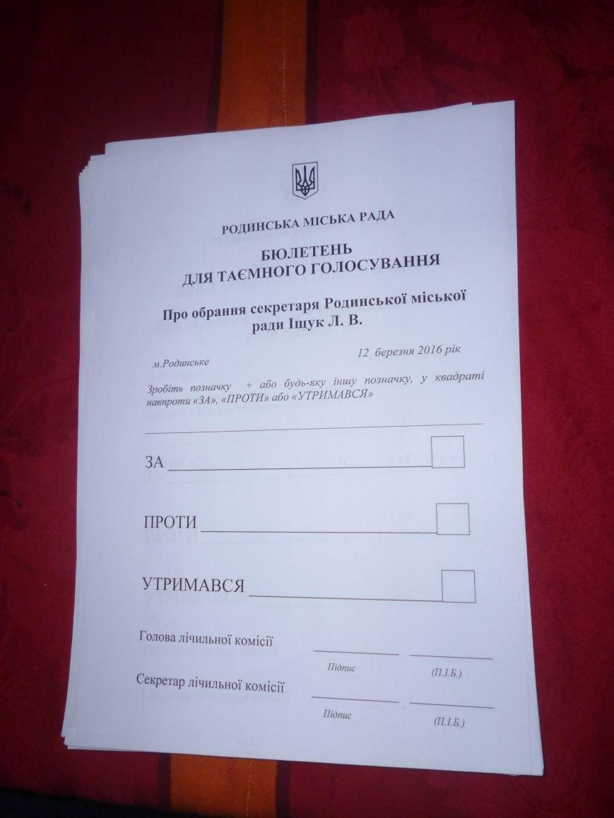 В Родинском, вопреки всему, избран новый исполняющий обязанности городского головы (фото) - фото 6