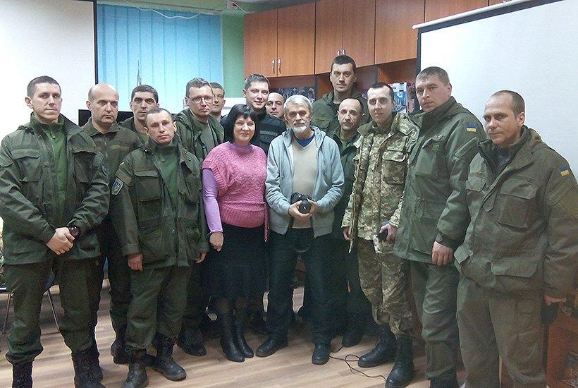 Гвардейцы Славянска встретились с режиссером (фото) - фото 2