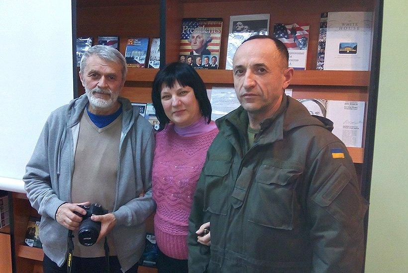Гвардейцы Славянска встретились с режиссером (фото) - фото 1