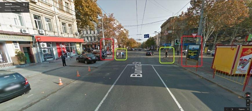 В центре Одессы реклама угрожает жизни пешеходов (ФОТО) (фото) - фото 1