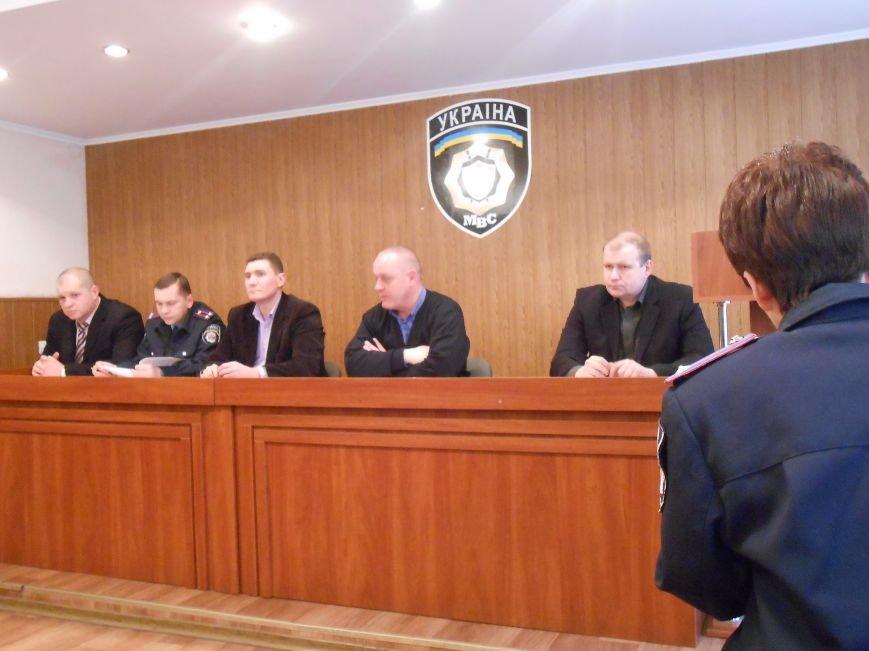 Новый начальник Днепродзержинского отдела полиции пообщался с представителями СМИ и общественности (фото) - фото 2