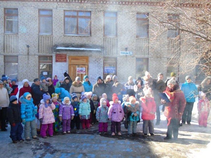 В Детской школе искусств сожгли Масленицу (фото) - фото 1